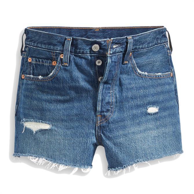 Levi's 501 High-Waisted Silver Lake Shorts