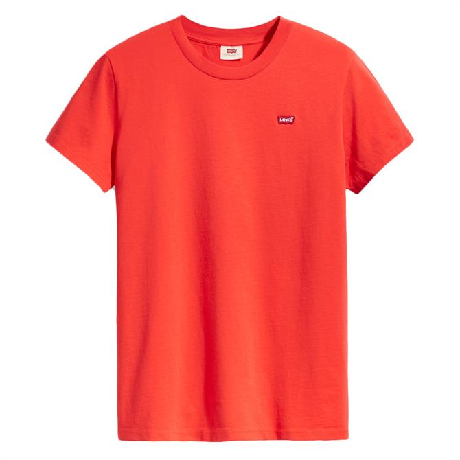 Levi's The Perfect Logo Short Sleeved Tee