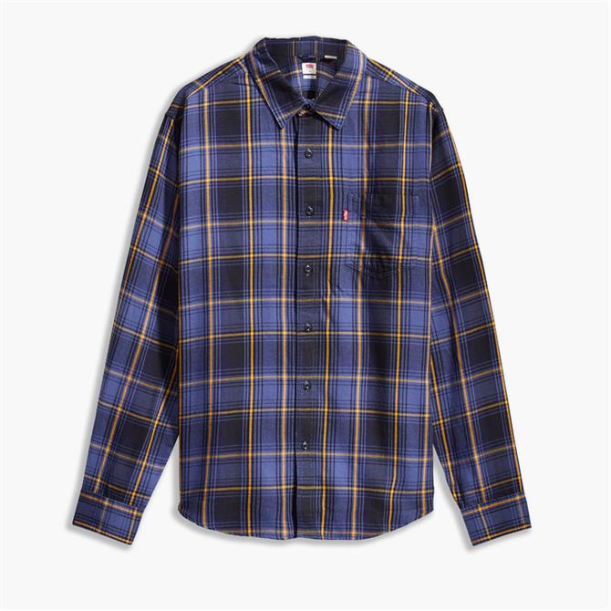 Levi's Sunset One Pocket Check Shirt