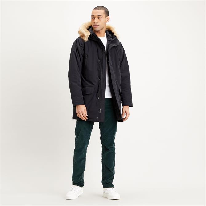 Levi's Woodside Long Utility Parker Jacket