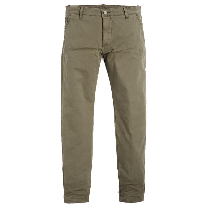 Levi's Standard Taper Chinos - Olive Green