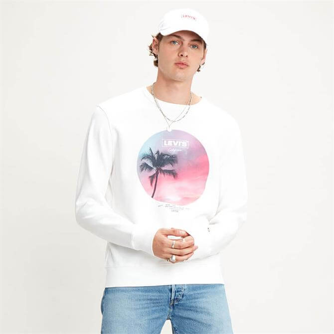 Levi's Graphic Tropical Print Sweatshirt