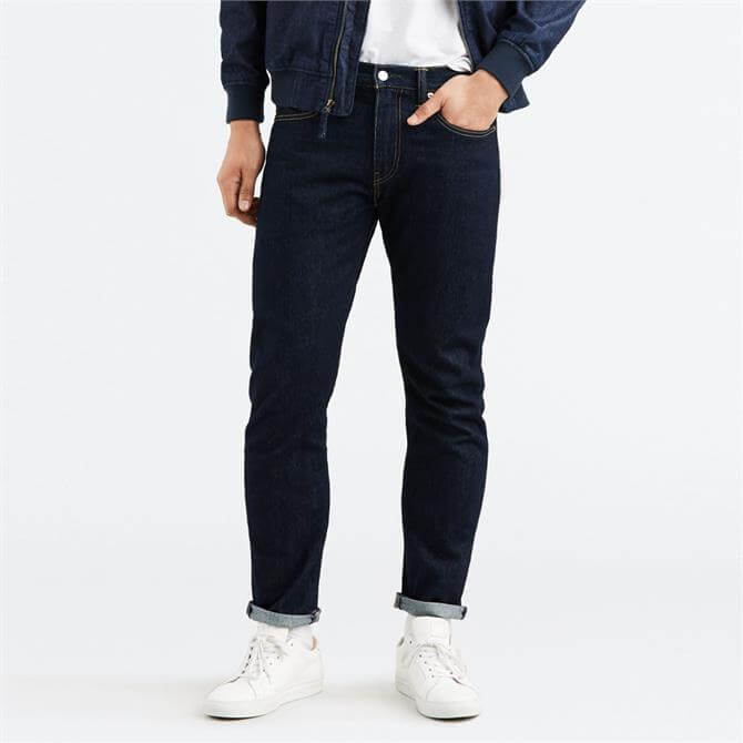 Levi's 502 Regular Taper Fit Jeans - Dark Hollow