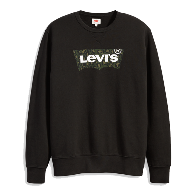 Levi's Animal Print Graphic Crew B Sweatshirt
