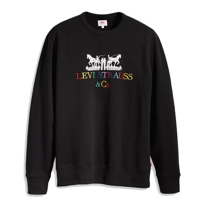 Levi's Horse Graphic Crew Sweatshirt