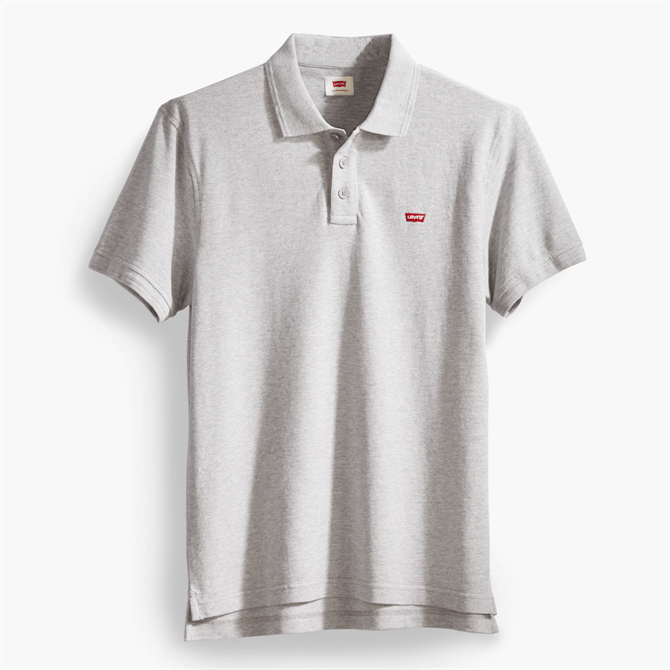 Levi's Housemark Polo - Heather Grey