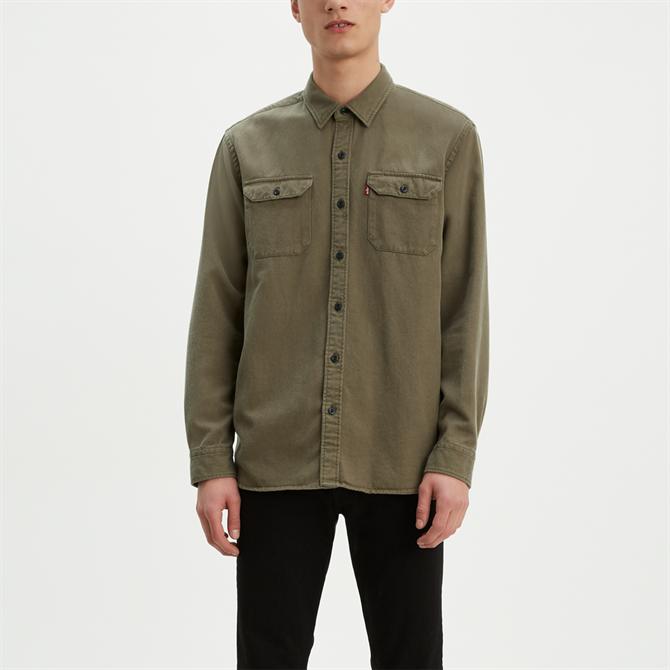 Levi's Jackson Worker Shirt - Olive