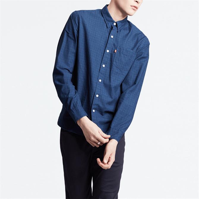 Levi's Sunset Pocket Shirt - Fritsche Indigo