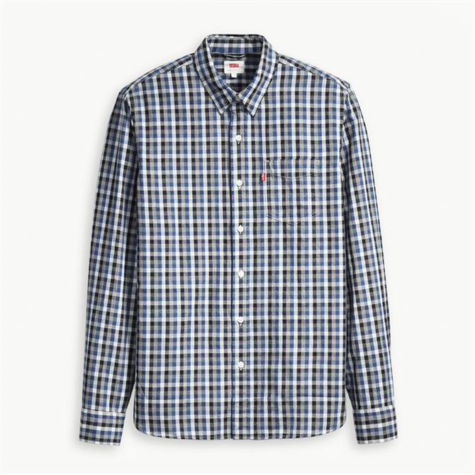 Levi's Sunset Pocket Shirt - Rushmeyer Indigo