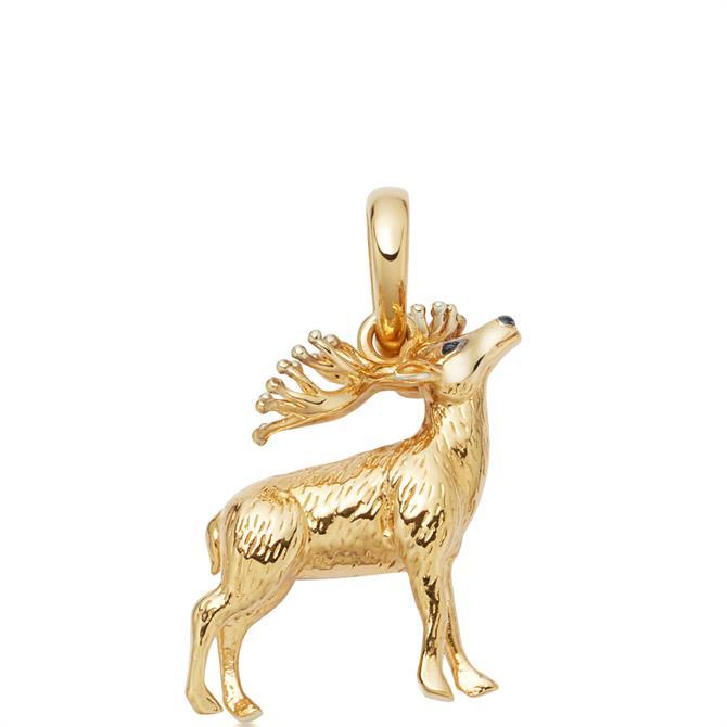 Links of London 18kt Gold Vermeil Red Deer Stag Charm