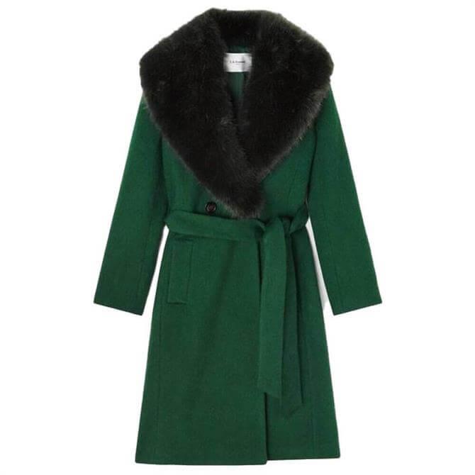 L.K. Bennett Ava Wool Mix Coat