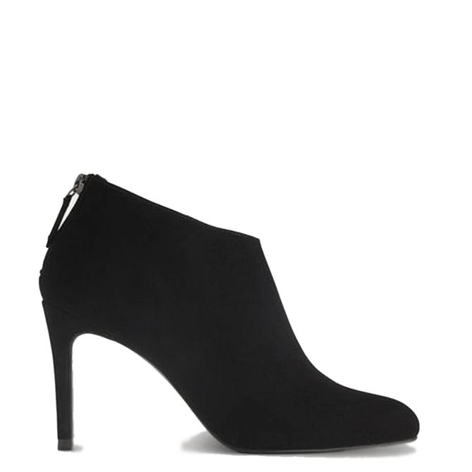 L.K. Bennett Emily Black Suede Ankle Boots