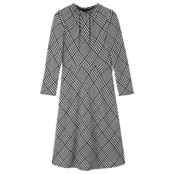 L.K. Bennett Katie Wool Blend Midi Dress