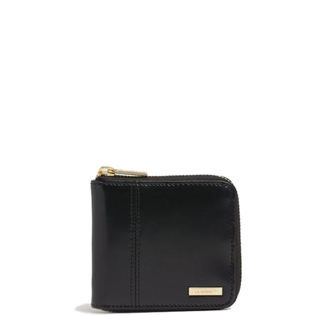 L.K. Bennett Caitlin Black Leather Purse