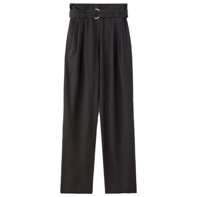 L.K. Bennett Lisette Fluid Belted Trousers