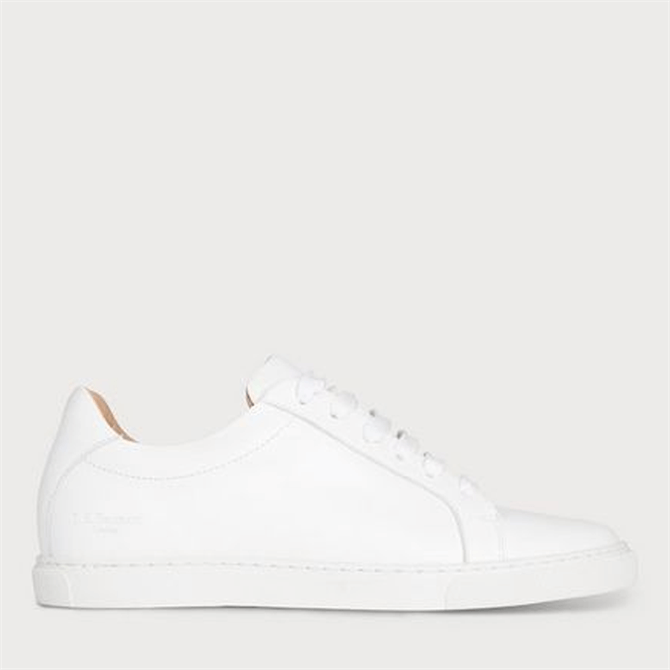 L.K. Bennett Jack White Nappa Leather Trainers