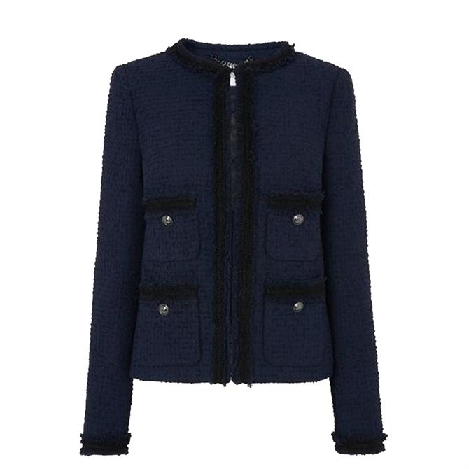 L.K. Bennett Charlee Tweed Jacket