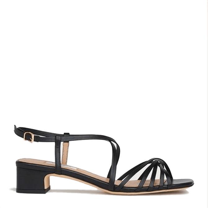 L.K. Bennett Newport Leather Strappy Sandals