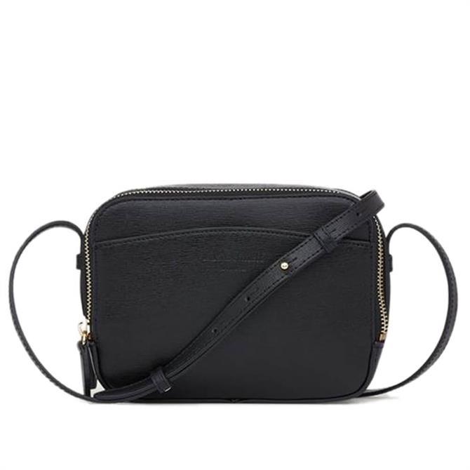 L.K. Bennet Mariel Black Leather Shoulder Bag