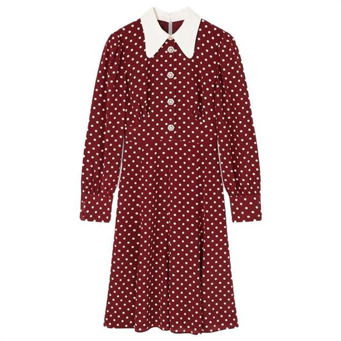 L.K. Bennett Mathilde Silk Tea Dress