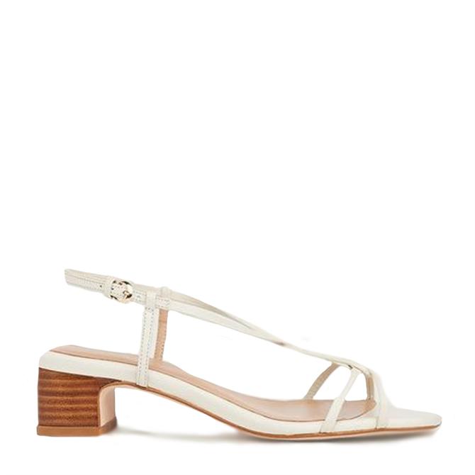 L.K. Bennett Sabrina Leather Plaited Sandals