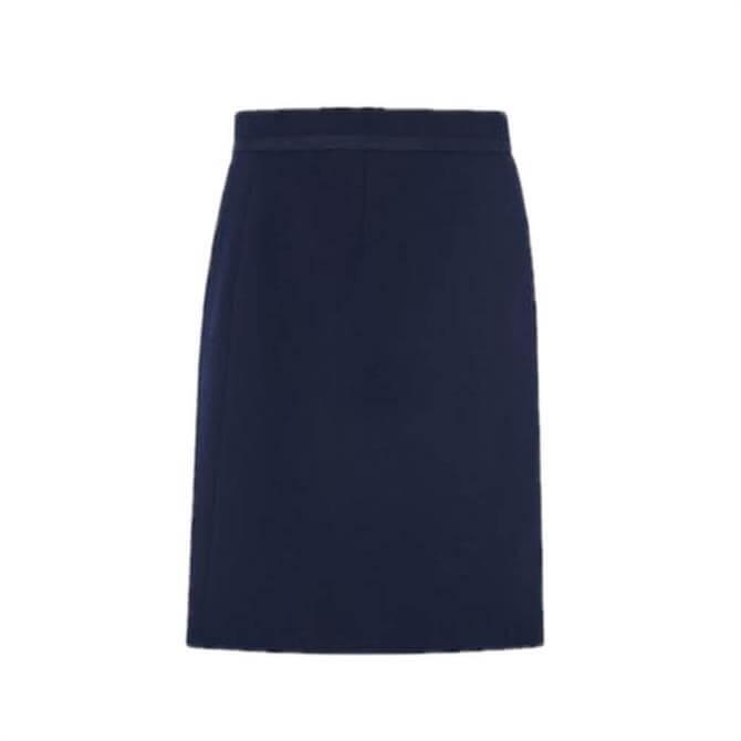 L.K. Bennett Nolan Navy Skirt