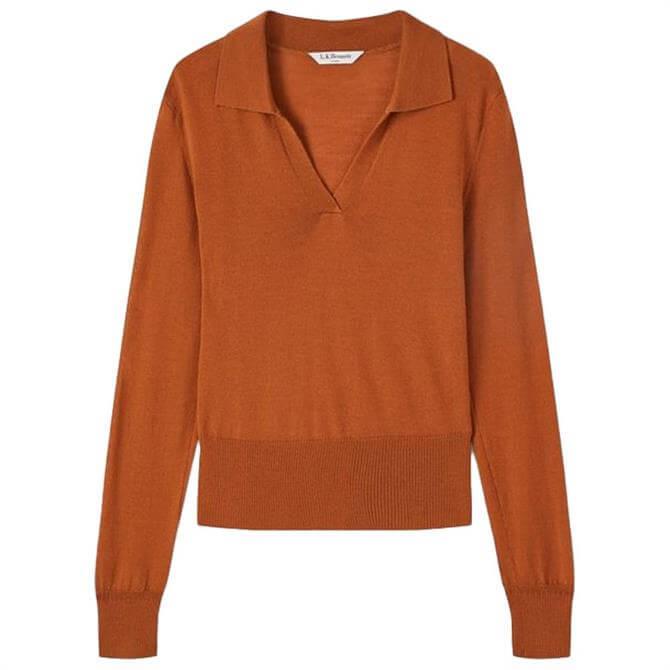 L.K. Bennett Sophie Merino Wool Knitted Top