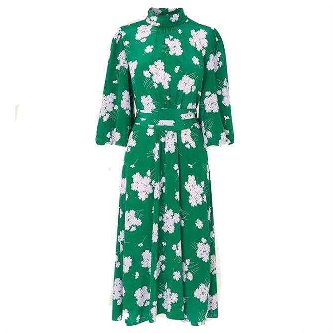 L.K. Bennett Tamara  Sweet William Green Dress