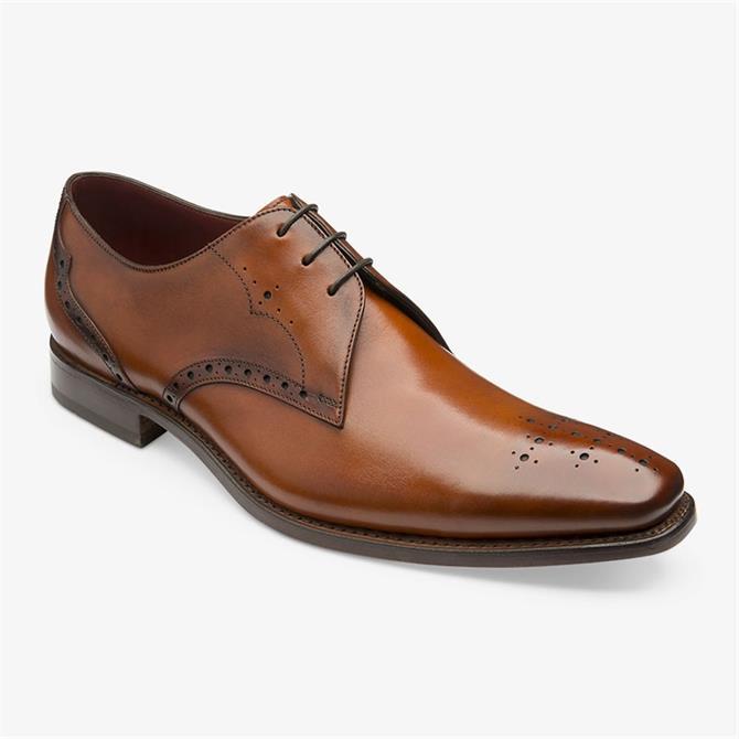 Loake Hannibal Chestnut Brown Derby Shoes