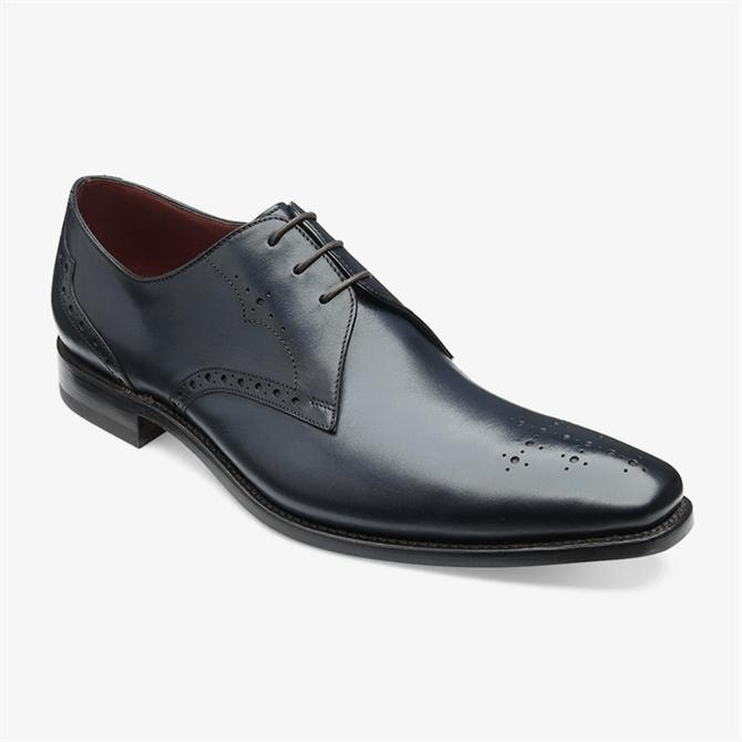 Loake Hannibal Navy Derby Shoe