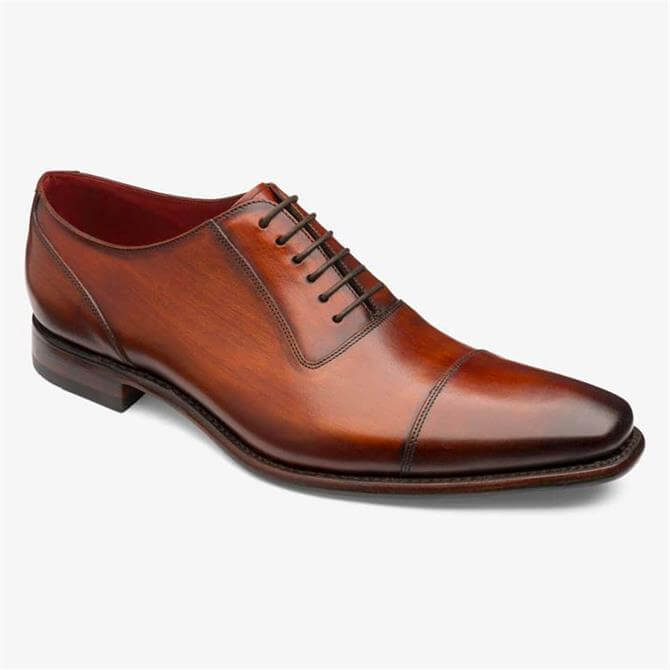 Loake Larch Chestnut Brown Oxford Shoes