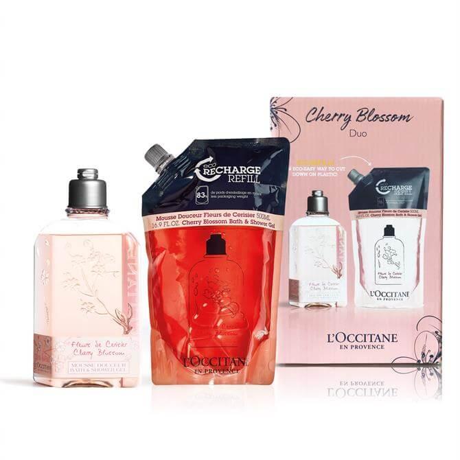L'Occitane Cherry Blossom Shower Gel Duo