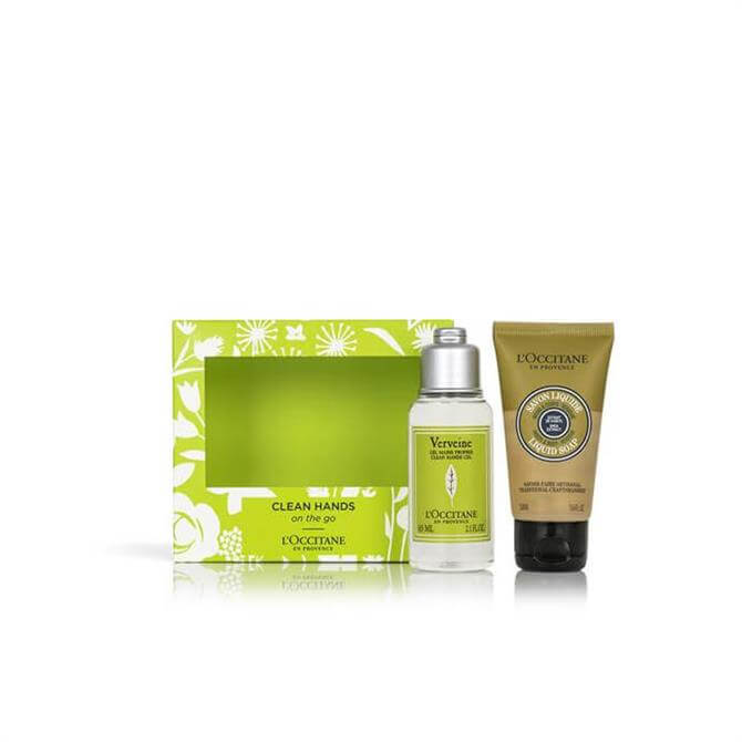 L'Occitane Clean Hands On The Go Gift Set