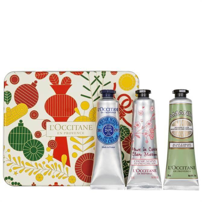 L'Occitane Hand Cream Trio Collection Gift Set
