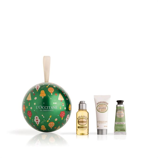 L'Occitane Almond Hand & Body Bauble Set