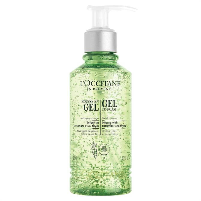 L'Occitane Cleansing Infusions Gel-to-Foam 200ml