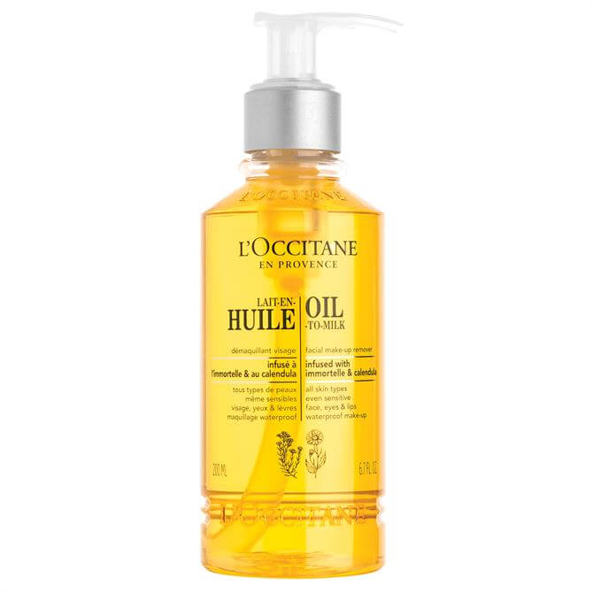 L'Occitane Cleansing Infusions Oil-to-Milk Make Up Remover 200ml
