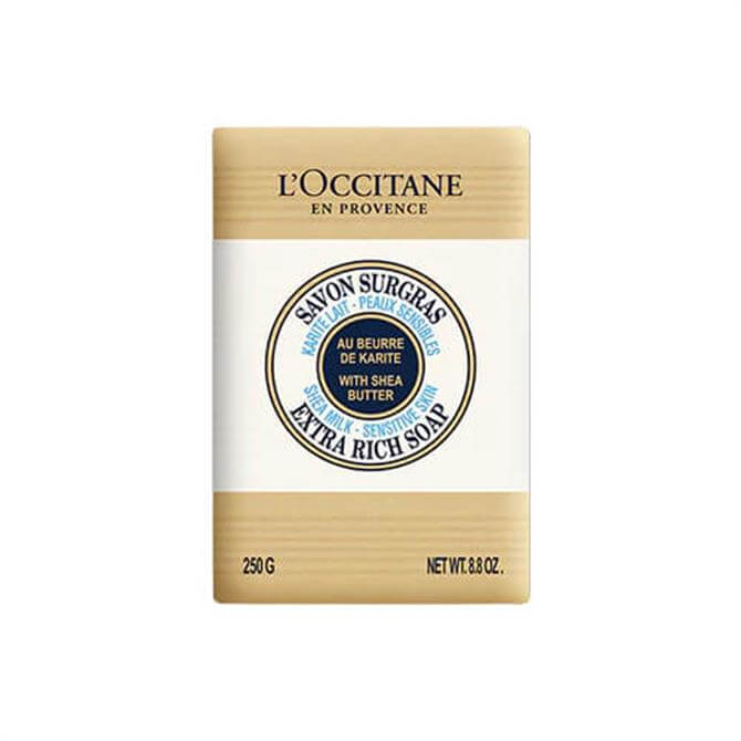 L'Occitane Shea Milk Sensitive Skin Extra Rich Soap 250g