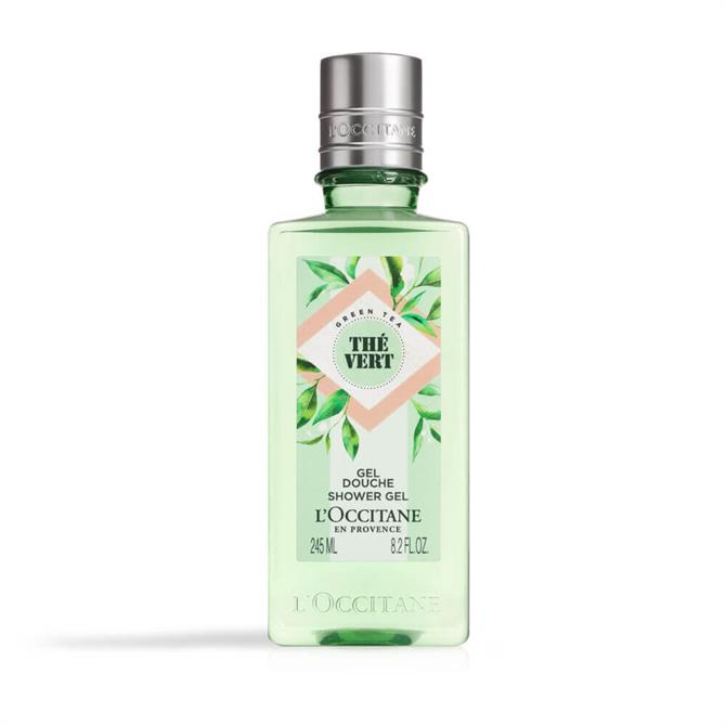 L'Occitane Green Tea Shower Gel 245ml