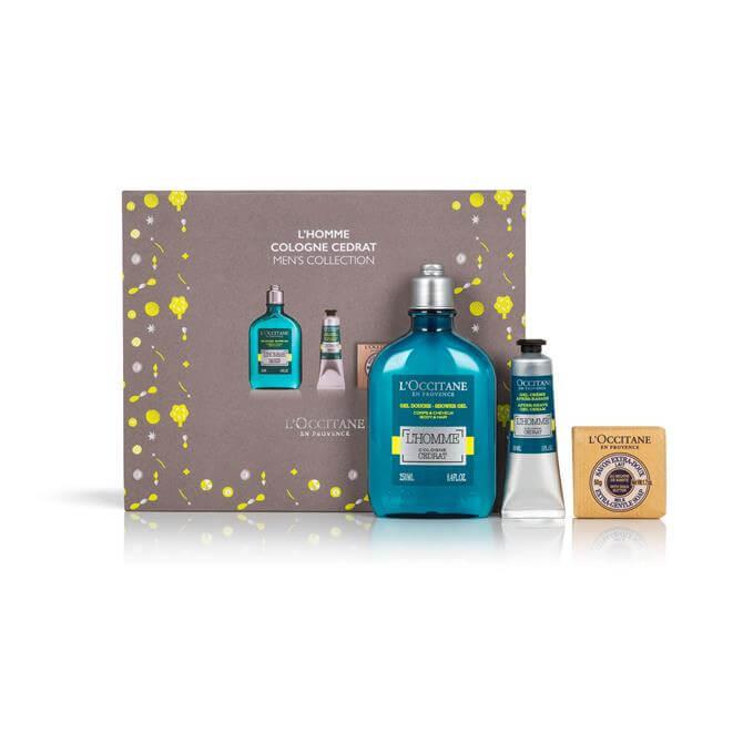 L'Occitane L'Homme Cologne Cedrat Men's Shower & Shave Gift Set