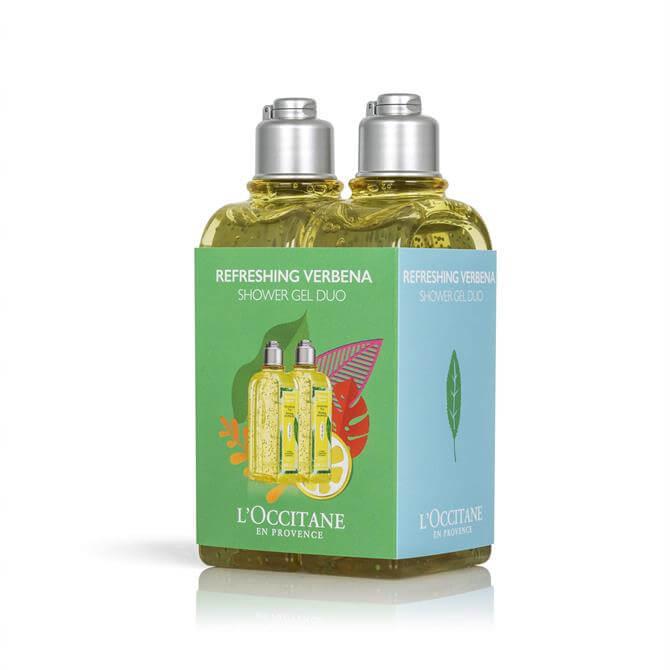 L'Occitane Refreshing Verbena Shower Gel Duo