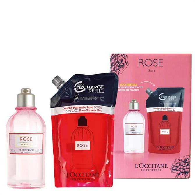 L'Occitane Rose Shower Gel Duo Set