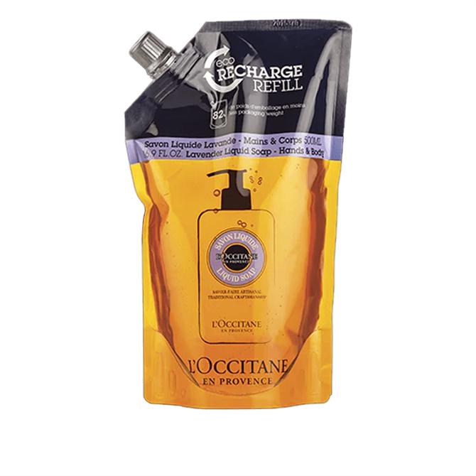L'Occitane Shea Lavender Hands & Body Liquid Soap Refill 500ml
