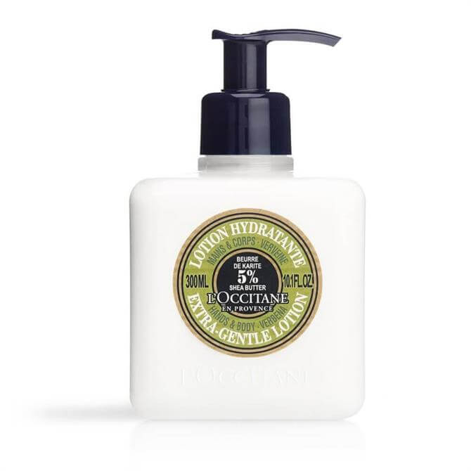 L'Occitane Shea Verbena Extra-Gentle Lotion for Hands & Body 300ml