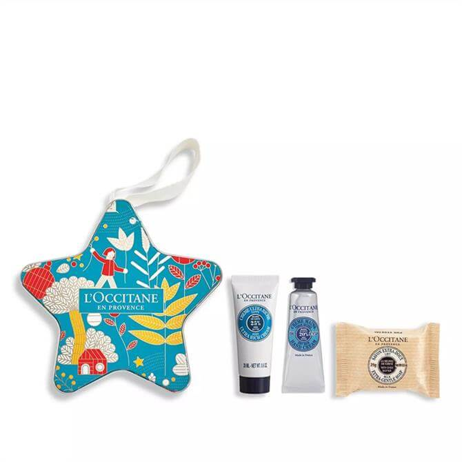 L'Occitane Soothing Shea Butter Star Bauble