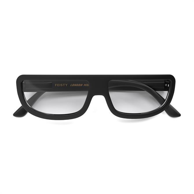 Lonodn Mole Feisty Black Reading Glasses