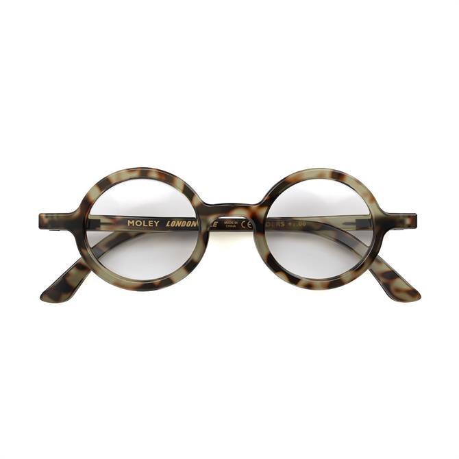 London Mole Moley Tortoise Shell Reading Glasses