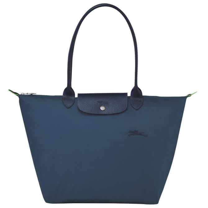 Longchamp Le Pliage Green Shoulder Bag L