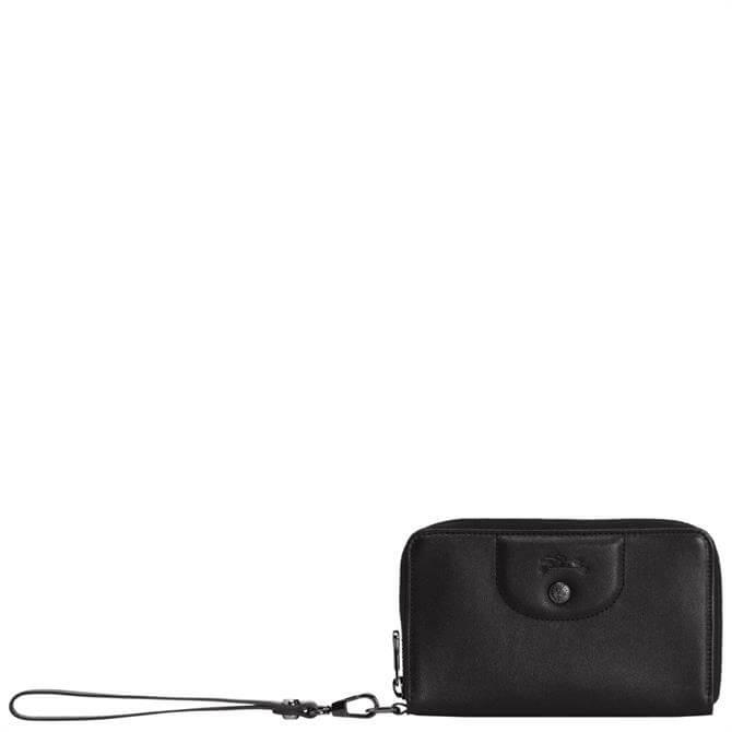 Longchamp Le Pliage Cuir Compact Wallet