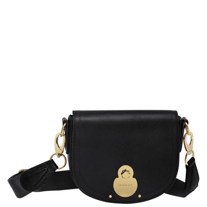 Longchamp Cavalcade Black Crossbody Bag